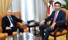 شبيب بحث مع سفير الأرجنتين تعزيز التعاون بين البلدين والتقى رولا الطبش