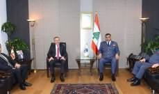 اللواء عثمان بحث مع درغام الاوضاع العامة