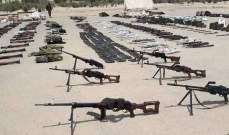 سانا: المسلحون بالقلمون الشرقي يواصلون تسليم أسلحتهم الثقيلة والمتوسطة