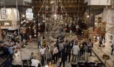 وصول بطريرك القدس الى كنيسة المهد ببيت لحم للمشاركة باحتفالات الميلاد