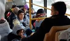 عودة دفعة جديدة من النازحين في عكار إلى سوريا
