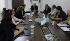 خوري: قرار منع استيراد بعض المنتجات التركية جاء ليحمي الصناعات اللبنانية وليساهم بتطويرها