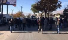 النشرة: موظفو مياه البقاع اعتصموا احتجاجا على عدم قبض رواتبهم على اساس السلسلة