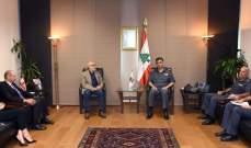 عثمان عرض مع شهيب الإجراءات التي ستتخذ لتأمين سلامة الامتحانات الرسمية
