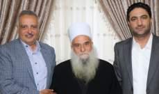 أرسلان زار الشيخ صالح الغريب وجال في بشامون والبساتين