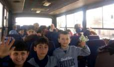سانا: وصول دفعة جديدة من المهجرين السوريين في الأردن عبر معبر نصيب