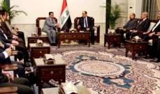 المالكي أكد ضرورة المشاركة الفاعلة لنواب كردستان بحل الخلافات بين أربيل وبغداد