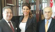 نقيب الصحافة إستقبل سفيرة لبنان في ايطاليا