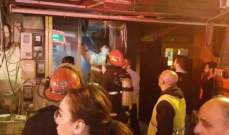 إخماد حريق داخل متجر لبيع المأكولات في جونية