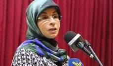 عز الدين: حركة امل تزخر بالكفاءات من العنصر النسائي