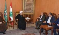 قبلان: الانفتاح والحوار بين الاديان مطلب كل الشعوب التواقة الى السلام