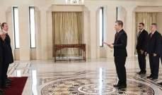 الأسد تسلّم أوراق اعتماد سفيري أرمينيا وفنزويلا لدى سوريا