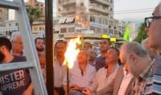 سعد يدعو للتمسك بخيار المقاومة في مواجهة الطائفية والمذهبية والفساد