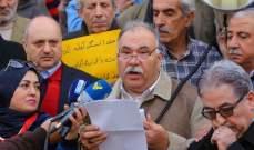 كاسترو عبدالله دعا لاعتصام في 25 الحالي للمطالبة برفع الحد الأدنى للأجور