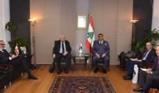 اللواء عثمان استقبل رئيس دائرة الهجرة في وزارة الداخلية البلجيكية