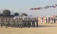 القائد العام لليونيفل رعى حفل تقليد اوسمة السلام لضباطوعناصر الكتيبة الهندية