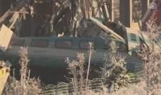 محافظ أنقرة: ارتفاع حصيلة قتلى حادث القطار إلى سبعة اشخاص