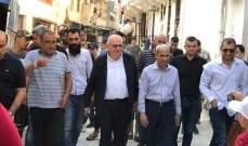 كبارة والخير تفقدا اعمال ترميم منطقة ضهر المغر القبة في طرابلس