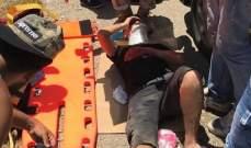 النشرة: سقوط جرحى بحادث سير على الطريق الساحلي لبلدة الخرايب