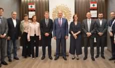 دبوسي عرض مع وفد سويسري المشاريع الاستثمارية في طرابلس