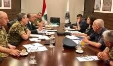 بو صعب: اجتماع مسائي إيجابي ومنتج في وزارة الدفاع مع وزيرة الداخلية