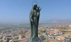 بدء قداس في الذكرى الثالثة لغياب النائب الياس سكاف في مقام سيدة زحلة