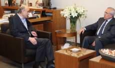 سليمان:كتلة نواب القوات ضمانة لسيادة لبنان ويجب إعادة النظر بقانون الإنتخاب