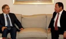 فرعون استقبل الامين العام لمركز الملك عبد الله العالمي للحوار بين اتباع الاديان