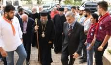 باسيليوس منصور لرئيس بلدية ببنين-العبدة: أرى فيك شخصًا عظيمًا