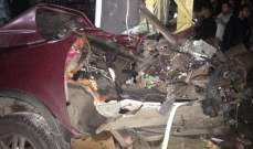 النشرة: سقوط قتيل وجريحين بحادث سير في بلدة أنصار