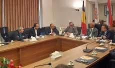 لقاء في غرفة التجارة بصيدا لتعزيز التبادل التجاري ومجالات الاستثمار بين لبنان وبلجيكا