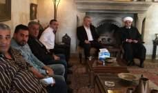 عبدالرزاق دعا إلى الإسراع في إخراج لبنان من ازماته