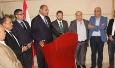 كرامي عرض مع الخطيب الأوضاع العامة بالمنطقة وتداعيات استقالة الحريري