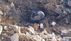 النشرة: مقتل سوري بإنفجار لغم ارضي من مخلفات اسرائيل بدير سريان
