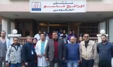 الادارات العامة وموظفو المستفشيات الحكومية في طرابلس التزموا الاضراب