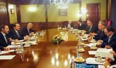 عزام بحث مع بوريسوف بالعلاقات الثنائية بين سوريا وروسيا وسبل تعزيزها