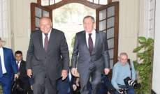 لافروف: حجم التبادل التجاري مع مصر بلغ 8 مليارات دولار ونسعى لزيادته