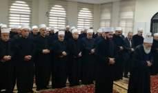 الشيخ حسن بخطبة العيد: ندين التعرض للمؤسسات الأمنية