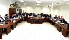 اللجنة العليا لتنظيم القمة العربية التنموية الاقتصادية تابعت درس تحضيرات انعقاد القمة