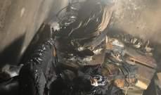 الدفاع المدني: إخماد حريق شب داخل منزل في كفرعقا