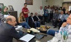 تكتل الجمعيات الأهلية اللبنانية ببيروت نوه بجهود العميد الخوري: إدارته الرشيدة خدمتنا