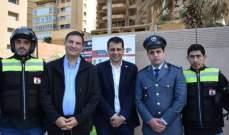 النادي اللبناني للدراجات النارية واليازا ينظم نشاطا للتوعية من أخطار حودث السير