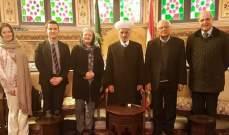 دريان التقى المنسق الخاص للأمم المتحدة في لبنان ووفدا نروجيا