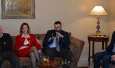 كبارة بحث مع احمد الحريري وجمالي مستجدات الانتخابات الفرعية بطرابلس