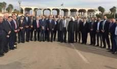 وفد برلماني أردني رفيع المستوى وصل الى سوريا للقاء الأسد والمعلم