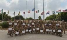الكتيبة الإيطالية نظمت دورة تدريبية مشتركة مع الجيش اللبناني في الاتصالات التكتيكية