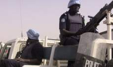 مقتل 3 جنود من قوات البعثة الأممية في مالي اثر عملية سطو مسلح