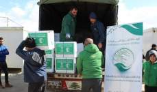 السيول إجتاحت مخيمات في دير زنون ونقل السكان الى مخيم الياسمين
