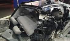 الدفاع المدني: جريح اثر حادث سير في البوشرية