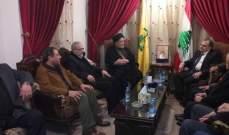 رئيس المجلس السياسي في حزب الله استقبل وفدا من صيدا برئاسة البزري